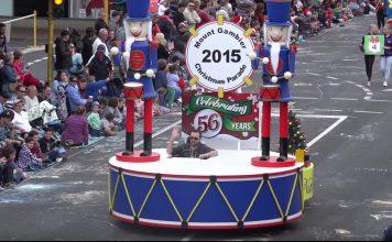 Mount Gambier Christmas Parade